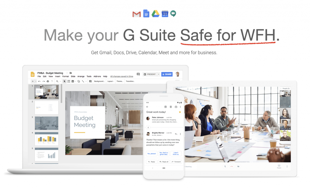 Make your G Suite Safe for WFH.